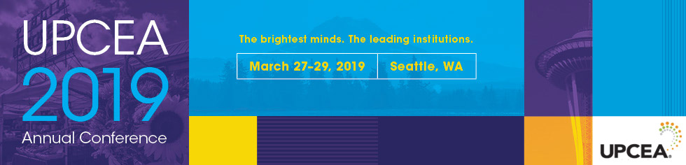 UPCEA 2019 Annual Conference - Marketing, Enrollment